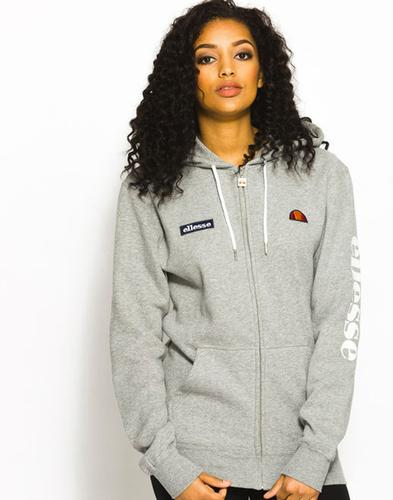 Serinatas ELLESSE Womens Retro Zip Thru Hoodie (G)