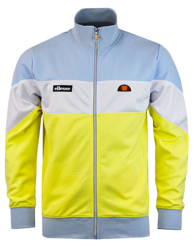 Caprini ELLESSE Men's Retro 80s Panel Track Jacket