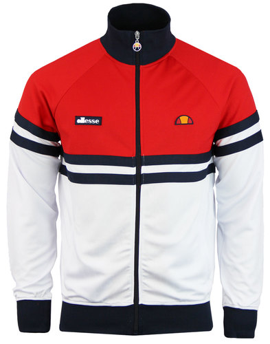 Rimini ELLESSE Retro 80s Panel Stripe Track Jacket