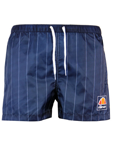 ELLESSE RETRO 70S 80S PINSTRIPE FOOTBALL SHORTS