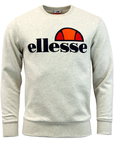 Succisco ELLESSE Retro 70s Crew Neck Sweater