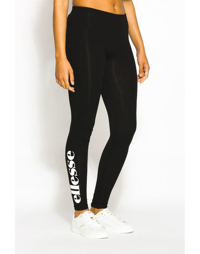 Solos ELLESSE WOMENS Retro 80s Logo Leggings Black