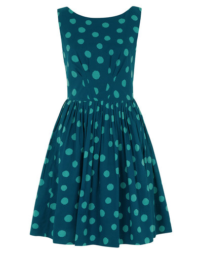 Abigail EMILY AND FIN Retro Splattered Spot Dress