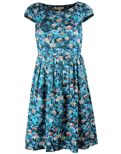 emily and fin claudia retro 50s swiss chalet dress