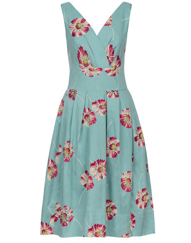 Emily and Fin Retro 50s Lillian Daisies Dress