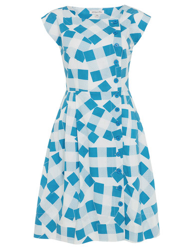 Nancy EMILY AND FIN Retro 50s Patchwork Day Dress