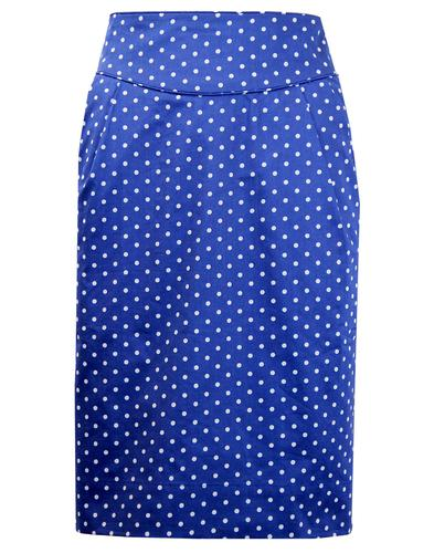 EMILY AND FIN RETRO MOD POLKA DOT PENCIL SKIRT