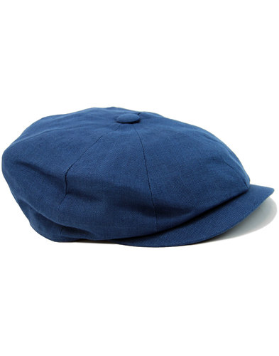 Alfie FAILSWORTH Irish Linen 8 Panel Gatsby Cap O