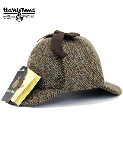 Sherlock FAILSWORTH Harris Tweed Deerstalker Hat