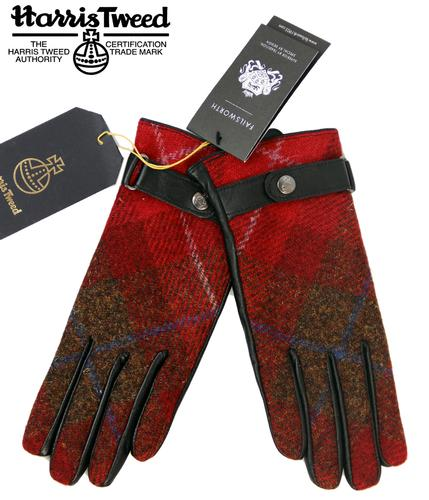 FAILSWORTH Harris Tweed Retro Womens Gloves