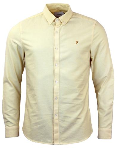 FARAH VINTAGE RETRO MOD OXFORD SHIRT SUNBURST