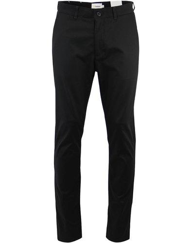 farah denby retro 1960s mod hopsack trousers black