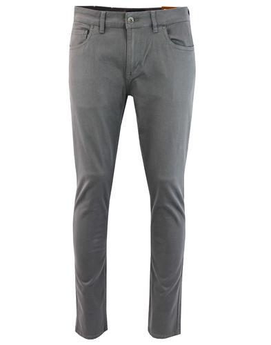 Drake FARAH Mod Slim Stretch Twill Trousers SLATE