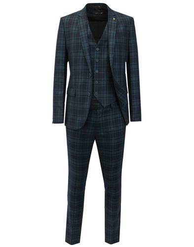 Ashworth FARAH Retro Check 2 or 3 Piece Suit