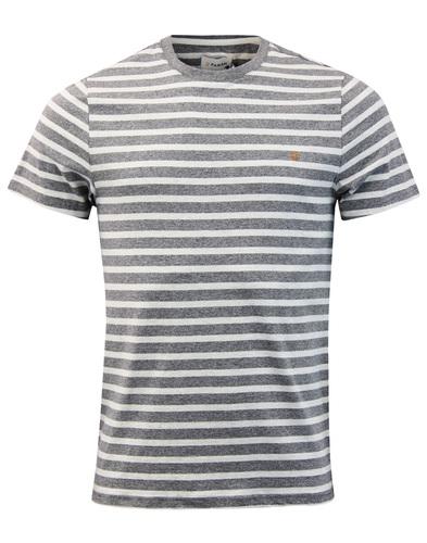 Lennox FARAH Retro 60s Mod Stripe Crew T-shirt GM