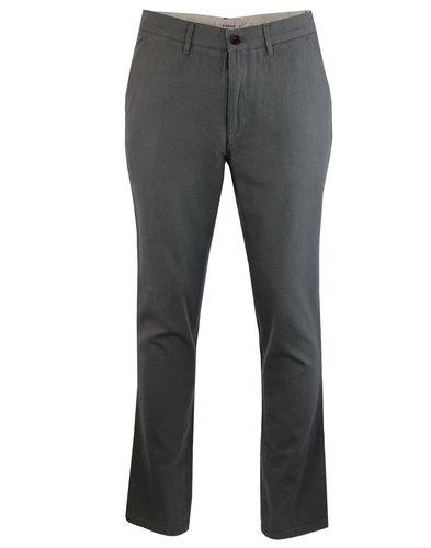 farah stubbs hopsack trousers dark slate