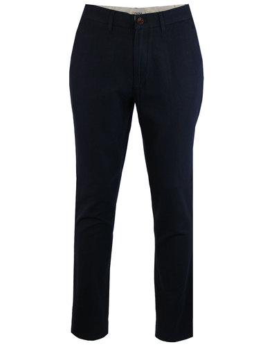 Stubbs FARAH Mens Retro Mod Hopsack Trousers NAVY