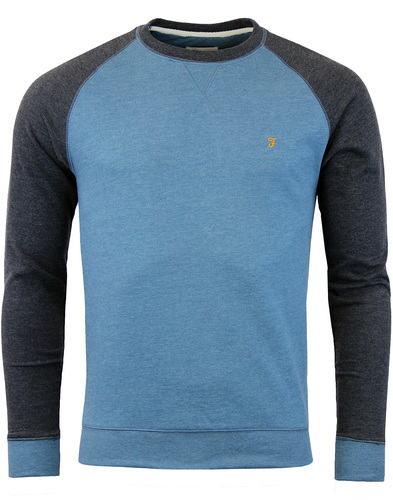 farah tanton sweater stellar blue