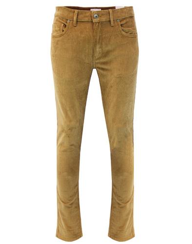 Drake FARAH Retro Mod Slim Stretch Cord Trousers T