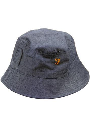 Charter FARAH Lattice Dot Reversible Bucket Hat