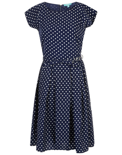 Mary FEVER Retro 50s Vintage Polka Dot Prom Dress