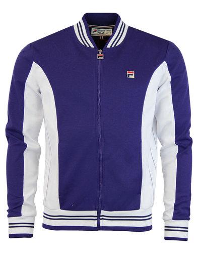 fila settanta jacket purple