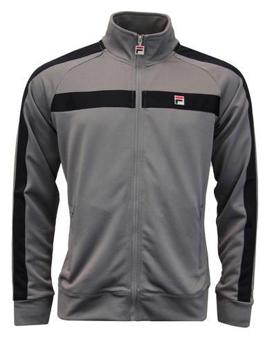 Renzo FILA VINTAGE Retro 80s Stripe Track Jacket G