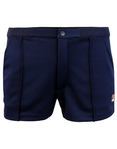 Bottazzi FILA VINTAGE Retro 70s Tennis Shorts (P)