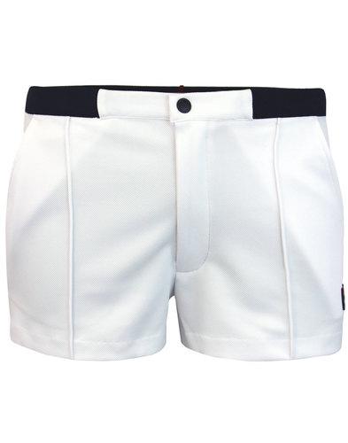 Bottazzi FILA VINTAGE Retro 70s Tennis Shorts (W)