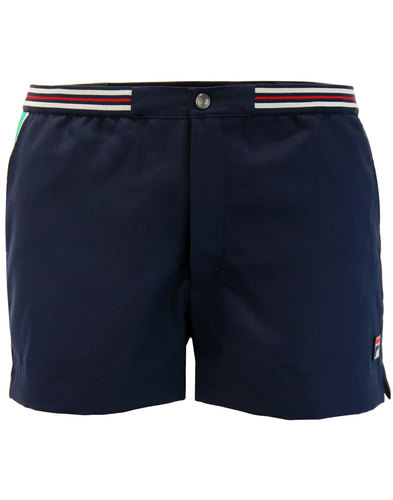 Hightide 4 FILA VINTAGE Retro 70s Tennis Shorts