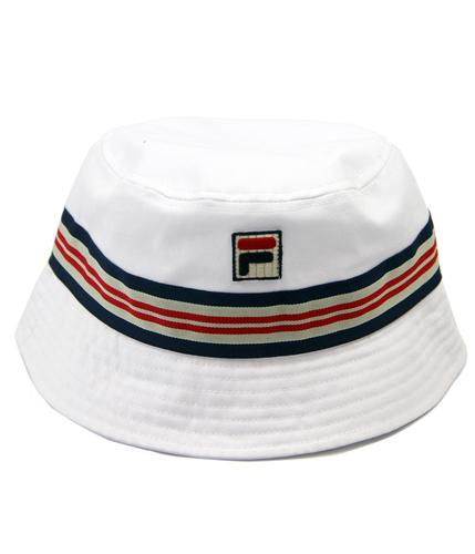 Casper FILA VINTAGE Retro Indie Britpop Bucket Hat