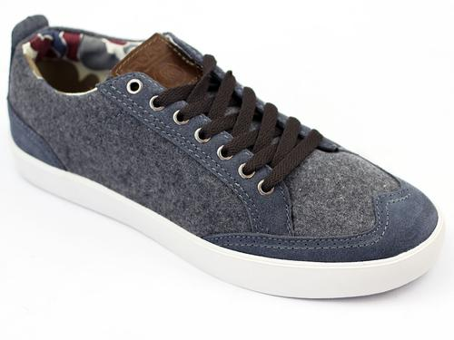FLY53 FLY 53 JILTED LO TRAINERS GREY RETRO INDIE