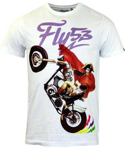 FLY53 FLY 53 RETRO NAPOLEON T-SHIRT