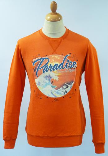 Bitchin Ride FLY53 Vintage Surf Logo Indie Sweater