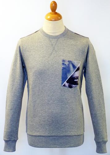 Dirty Bird FLY53 Retro 70s Indie Geometric Sweater