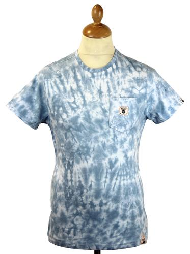 FLY53 FLY 53 RETRO MOD INDIE TIE DYE T-SHIRT