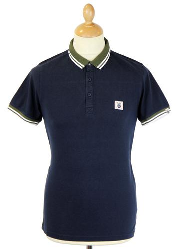 FLY53 FLY 53 RETRO MOD TIPPED POLO KNOCKOUT
