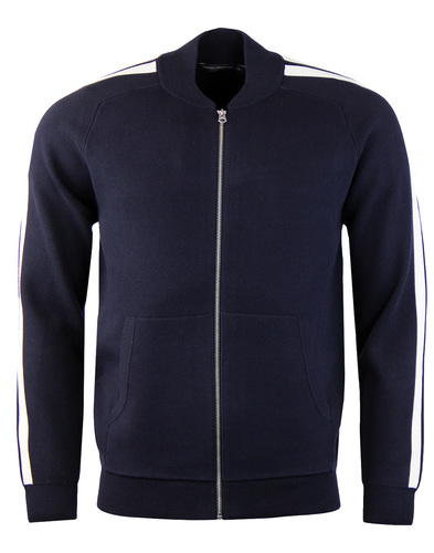 french connection larka bomber track top