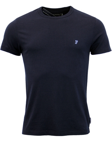 FRENCH CONNECTION Retro Slim Fit Crew Neck Tee M