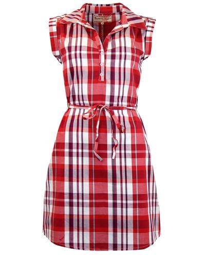 FRIDAY ON MY MIND RETRO MOD TUNIC SHIRT DRESS