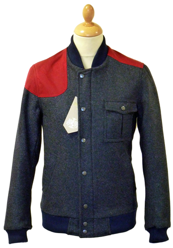 FERGUSON of LONDON RETRO MOD HARRINGTON BOMBER