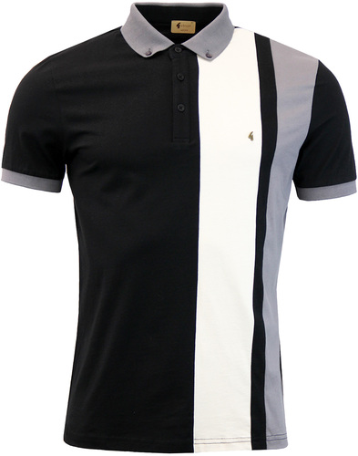 Dawson GABICCI VINTAGE Retro Panel Stripe Polo (B)