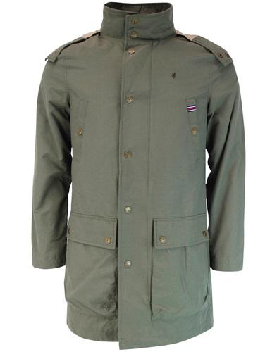 gabicci vintage parka khaki mod
