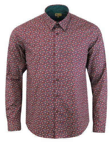 Alexander GABICCI VINTAGE 1960s Mod Paisley Shirt