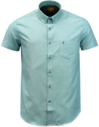 gabicci vintage camber retro mod oxford shirt mint