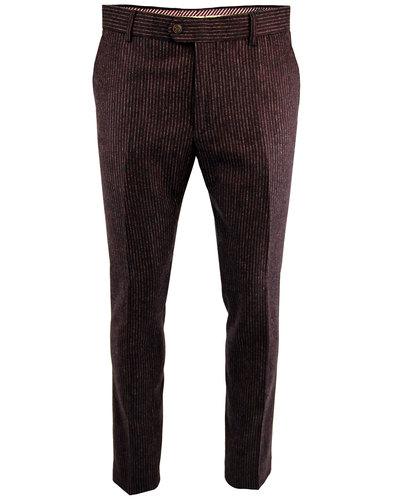 GABICCI VINTAGE 1960s Mod Pinstripe Suit Trousers