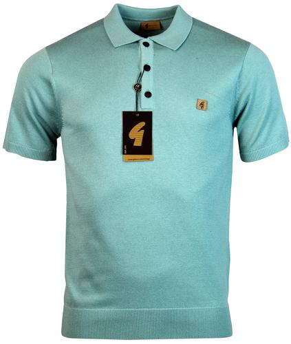 gabicci vintage retro 60s mod knitted polo breeze