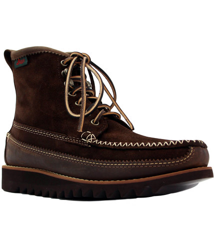 gh bass weejuns retro mod suede ranger boots brown