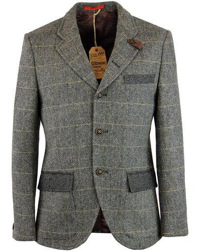 Grouse GIBSON LONDON Mod Herringbone Check Jacket