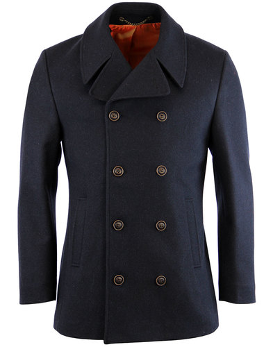 gibson london tilbury retro 60s mod melton peacoat